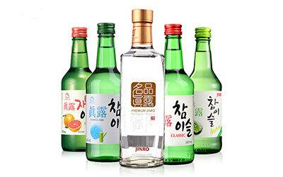韩国国酒 韩国烧酒 真露 真露酒 真露烧酒