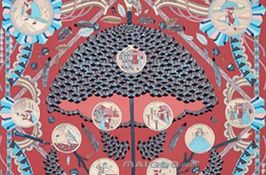 爱马仕丝巾,爱马仕,奢侈品,丝巾,神奇的伞,爱马仕故事