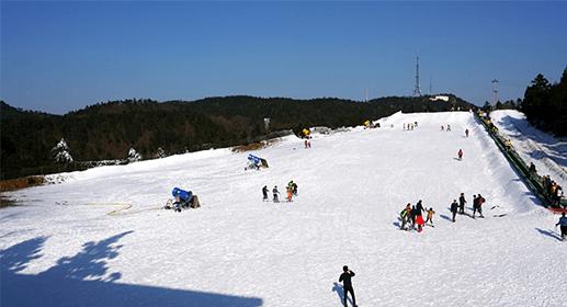 商量岗高山滑雪场