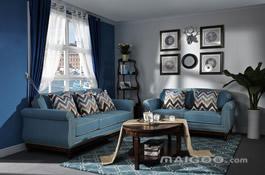 地中海风格的客厅效果图
