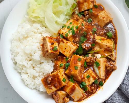 麻婆豆腐盖浇饭